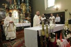 16.06.2019 - Eucharystia z błogosławieństwem prymicyjnym o. Sylwana