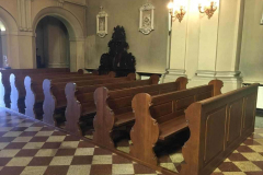 18.07.2020 - Nowe ławki w Sanktuarium