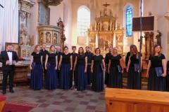 """23.06.2018 - Drugi koncert - Schola Liturgiczna """"Anima Symphinizans"""" z Katowic Panewnik"""