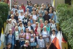 26.08.2018 - Kobylińska piesza pielgrzymka do Lutogniewa
