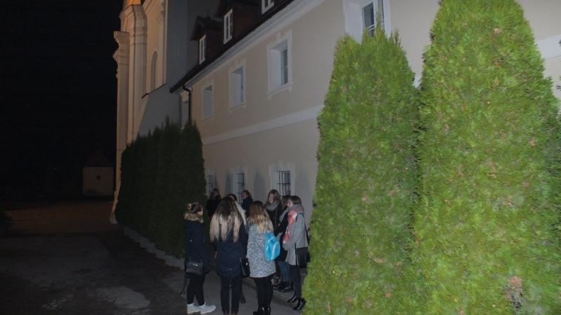 26.11.2016 - Adwentowe czuwanie modlitewne Młodzieży Franciszkańskiej w Choczu