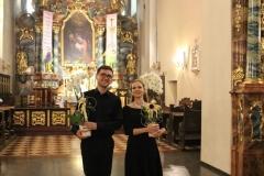 29.06.2019 - II koncert w ramach III  Kobylińskiego Festiwalu Muzyki Organowej i Kameralnej