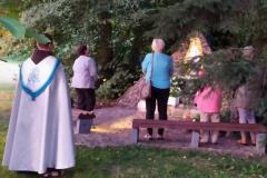 29.07.2020 - Nabożeństwo przy grocie - przygotowanie do odpustu