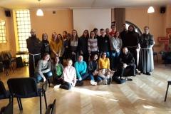 30.11.2019 - Dzień Braterstwa Młodzieży Franciszkańskiej w Chorzowie