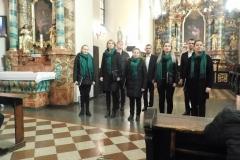 """31.03.2019 - Koncert Pasyjny - Zespół Wokalny """"Cantus""""."""