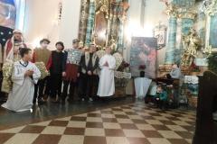 5.01.2020 - Jasełka dzieci z Domu Pomocy Społecznej ze Zdun