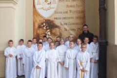 6.06.2016 - Pielgrzymka dzieci pierwszo komunijnych do Częstochowy