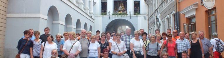 Parafialna pielgrzymka do Wilna
